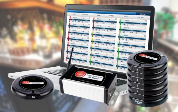 Call Systems Technology Vuze, Call Systems Technology TrackSmart, Vuze table location system, TrackSmart table location system, table tracking system, RFID