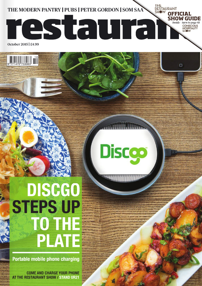 Restaurant Magazine Cover
