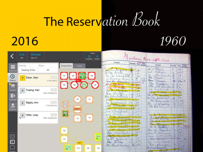 The complete transformation of the reservation book