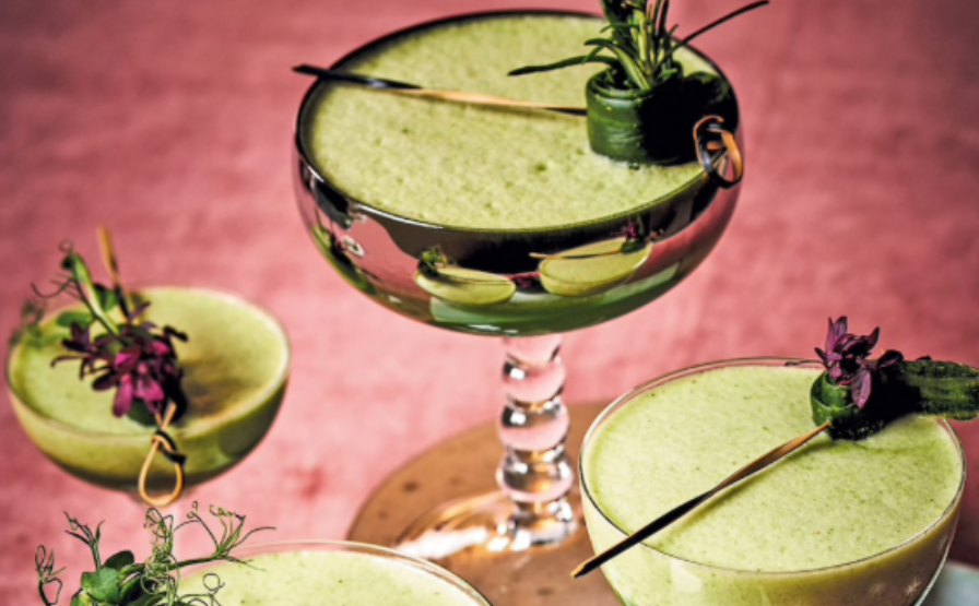 Love and Peas Mocktail